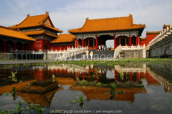 China, Beijing. Inside the Forbidden City in Beijing