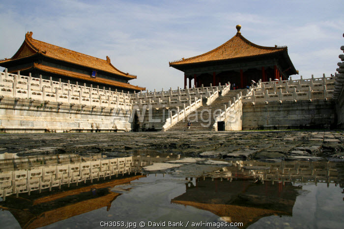 awl-images.com - China / China, Beijing. Inside the Forbidden City in Beijing