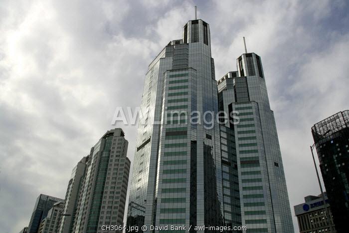 China, Beijing. Skyscrapers in Beijing.