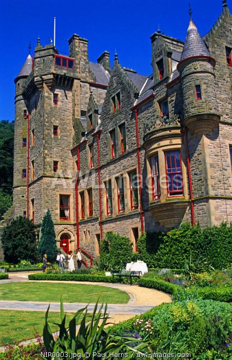 Northern Ireland, Belfast. Belfast Castle, Cave Hill, Belfast, Northern Ireland, U.K.