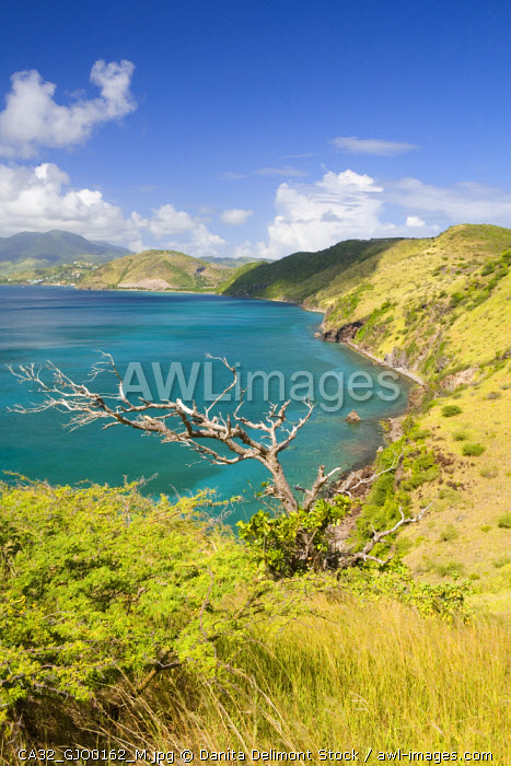 White House Bay, southeast peninsula, St Kitts, Caribbean.