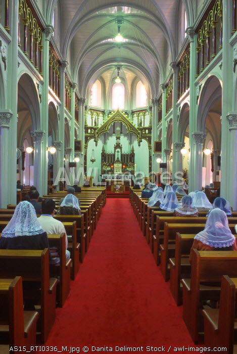 Japan, Nagasaki, Hirado, Tabira Catholic Church