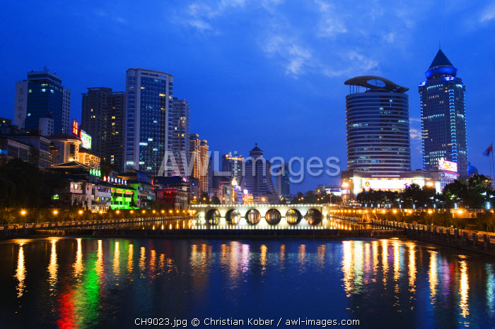 awl-images.com - China / China, Guizhou Province, Guiyang city skyline