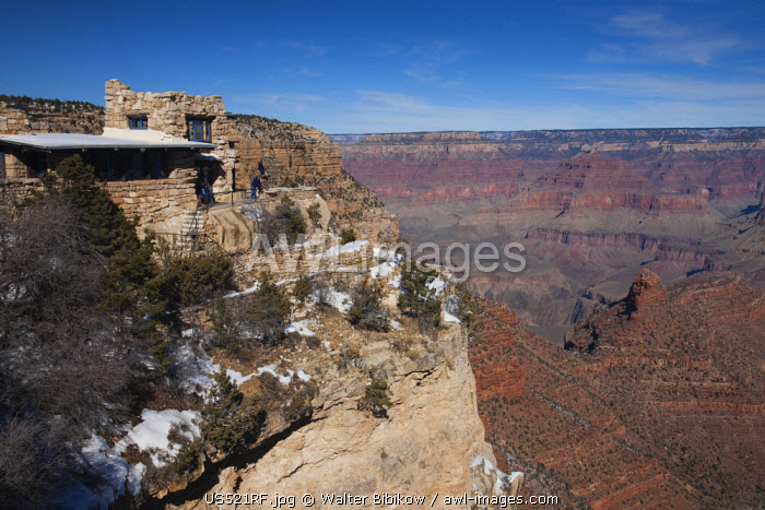 awl-images.com - United State of America / USA, Arizona, Grand Canyon National Park, Grand Canyon Village, Lookout Studio