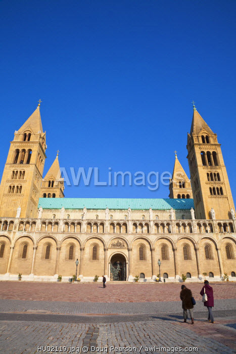 awl-images.com - Hungary / Pecs Cathedral, Pecs, Southern Transdanubia, Hungary