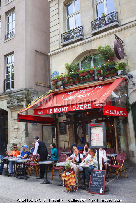France, Paris, Outdoor Cafes