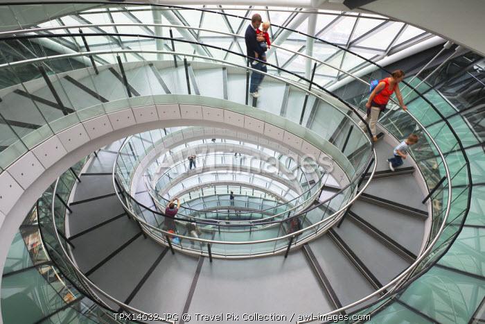 England, London, Interior of City Hall