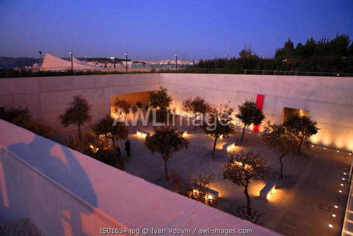 Yad vashem (Holocaust memorial), Jerusalem, Israel