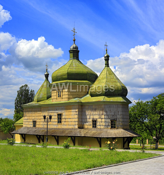 St. Michael church (1650), Plyasheva, Volyn oblast, Ukraine