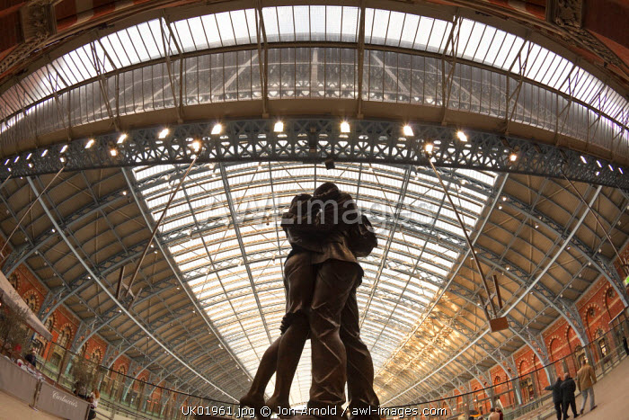 St. Pancras station, London, England