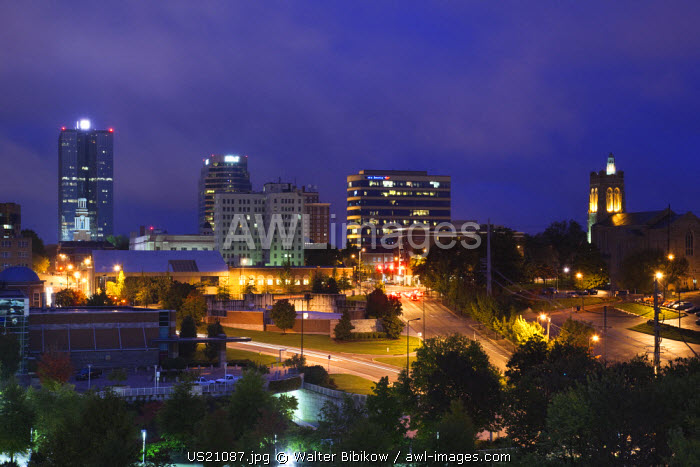 USA, Tennessee, Knoxville, city view