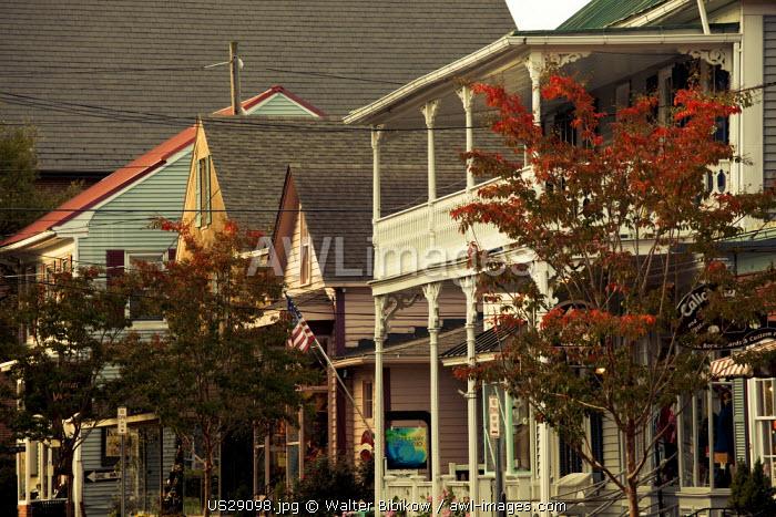 USA, Maryland, Eastern Shore of Chesapeake Bay, St. Michaels, village detail