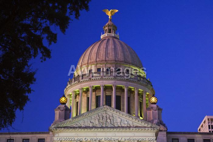 USA, Mississippi, Jackson, Mississippi State Capitol