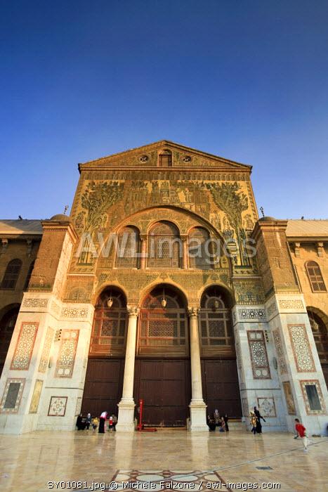 Syria, Damascus, Old, Town, Umayyad Mosque, main courtyard