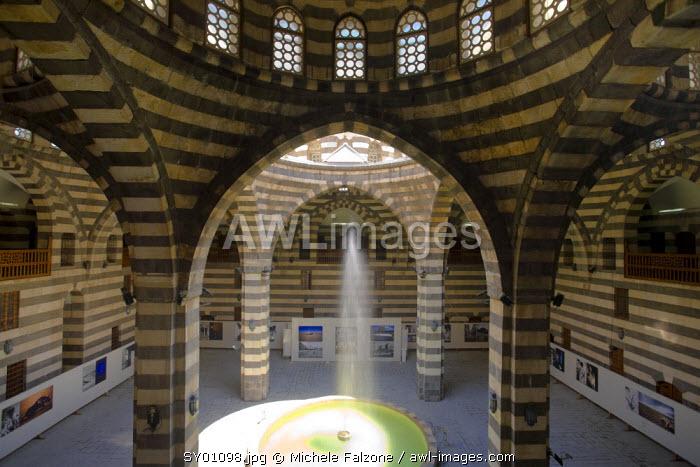 Syria, Damascus, Old, Town, Khan Asad Pasha (Historic Ottoman Traveller's Inn), Damascus Largest