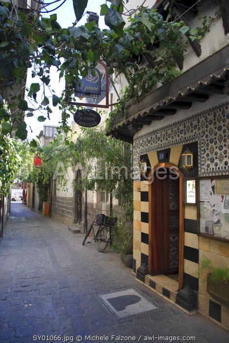 Syria, Damascus, Old Town, Bab Touma Quarter