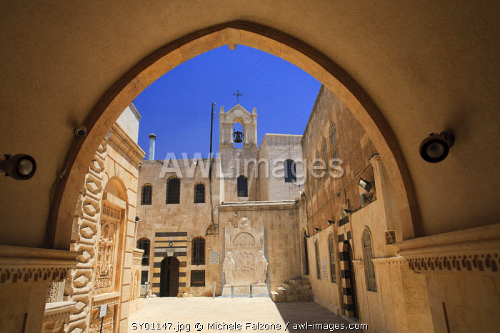 Syria, Aleppo, The Old Town (UNESCO Site), Armenian Cathedral of the 40 Martyrs