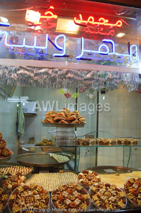 Syria, Aleppo, The Old Town (UNESCO Site), Syrian sweets