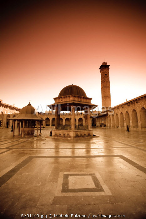 Syria, Aleppo, The Old Town (UNESCO Site), Great Mosque (Al Jamaa al Kebir)