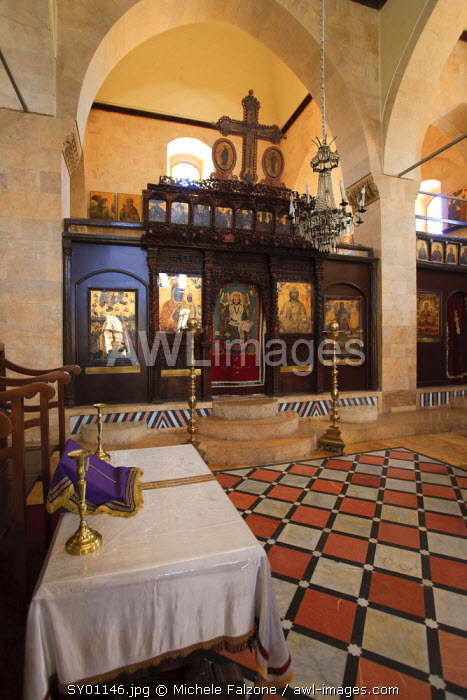 Syria, Aleppo, The Old Town (UNESCO Site), Greek Orthodox Church