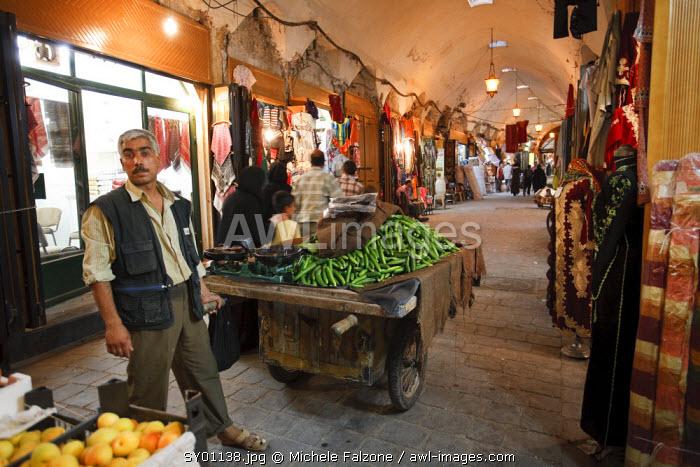 Syria, Aleppo, The Old Town (UNESCO Site), Souq