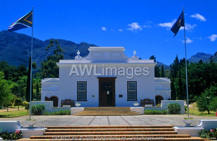 South Africa, Western Cape, Franschoek.  The Huguenot Memorial Museum.