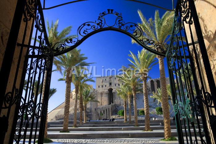 Syria, Aleppo, The Old Town (UNESCO Site), Madrassa as-Sultaniyya (Islamic Law School)