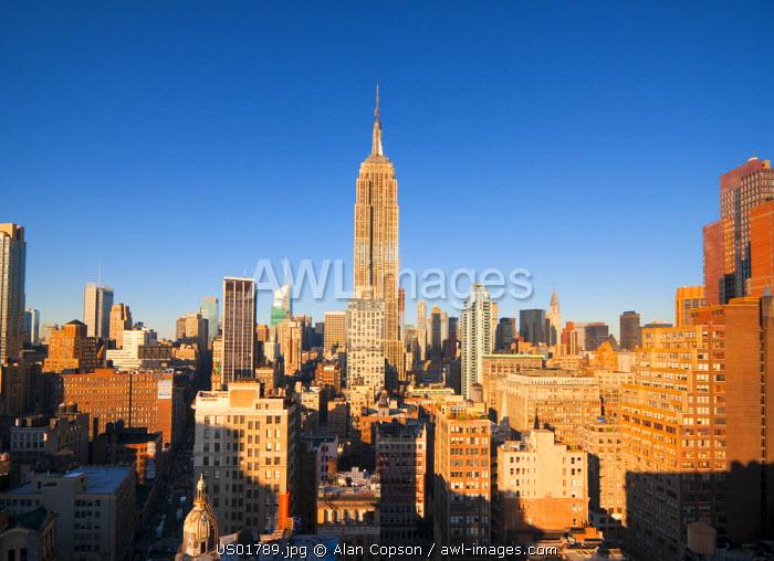 USA, Manhattan, Midtown, Empire State Building