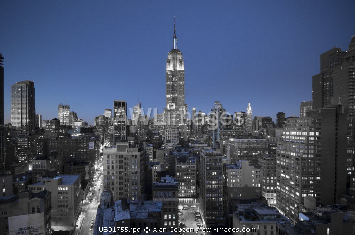 USA, Manhattan, Midtown, Empire State Building