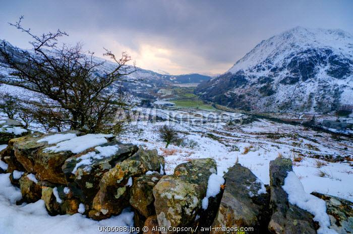 UK, Wales, Gwynedd, Nant Gwynant Valley