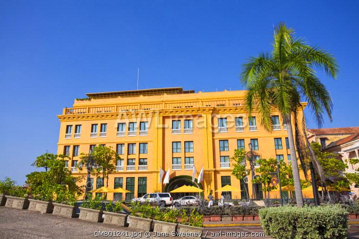 Colombia, Bolivar, Cartagena De Indias, Plaza  Santa Teresa, Hotel Charleston Cartagena