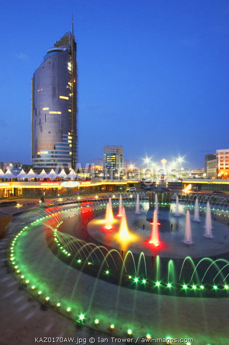 Modern architectue, Astana, Kazakhstan