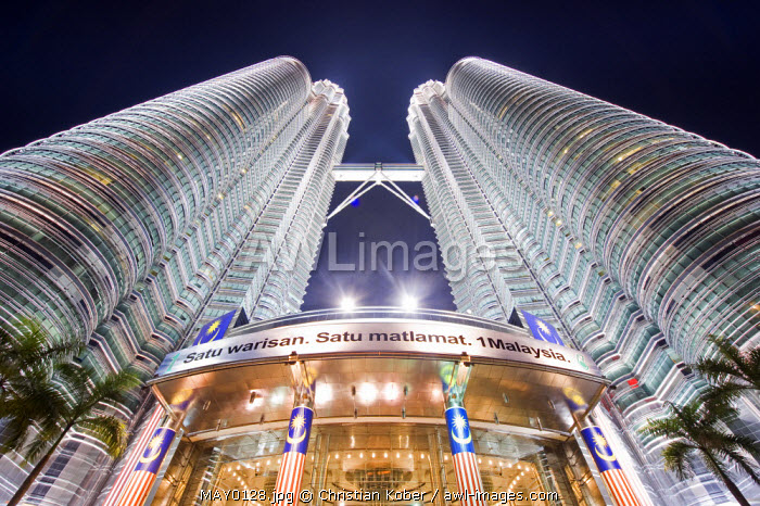 South East Asia, Malaysia, Kuala Lumpur, Petronas Towers