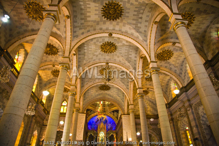 Cathedral of Immaculate Conception, built in 1856 with a mix of Spanish and Moorish style, at Mazatlan, Sinaloa State, Mexico