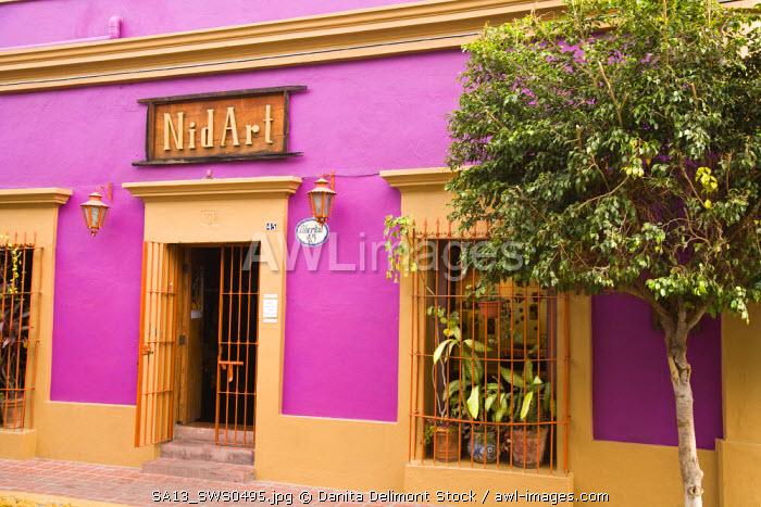 Nidart Gallery, Historic District, Old Mazatlan, Sinaloa State, Mexico