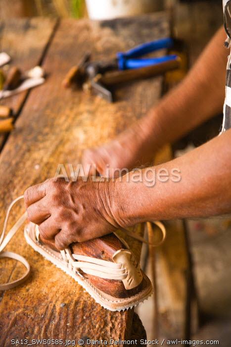 Hand made Leather products, La Noria near Mazatlan, Sinaloa State, Mexico
