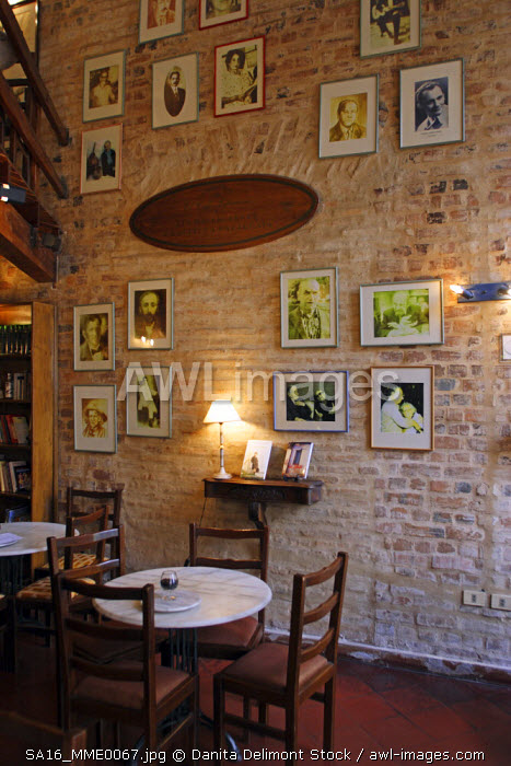 Cafe' Literario is a comfy coffee place with a nice literary atmosphere in downtown Asuncion: Mariscal Estigarribia at calle Mexico. Asuncion is the capital of Paraguay.