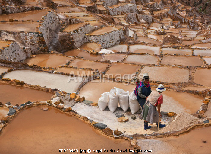Peru, The ancient saltpans of Salinas near Maras have been an important source of salt since pre-Inca times.