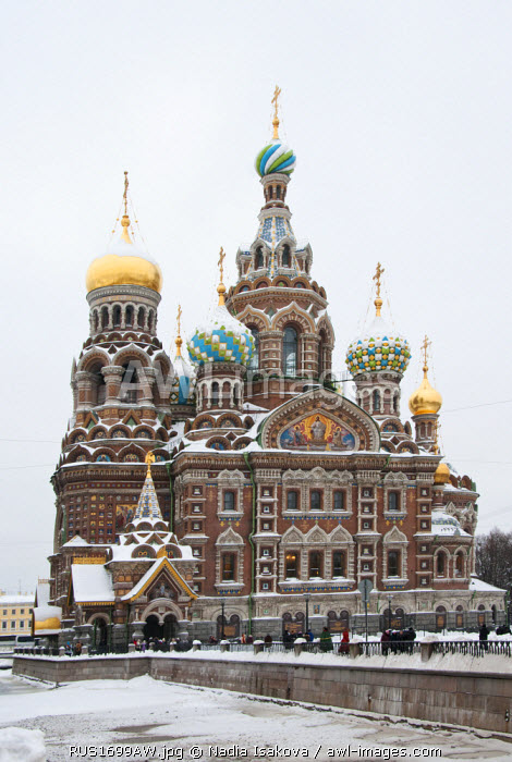awl-images.com - Russia / The Church of our Saviour on the spilled blood, Saint Petersburg, Russia
