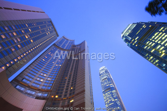 awl-images.com - China / Four Seasons Hotel and IFC 1 and 2, Central, Hong Kong, China
