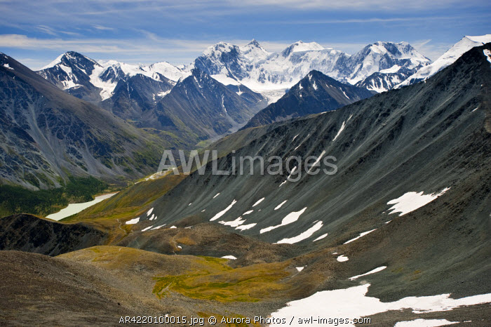 awl-images.com - Russia / The trail from Mt Belukha to Lake Kucherla, Mtn Belukha Park, Altai Republic, Siberia, Russia