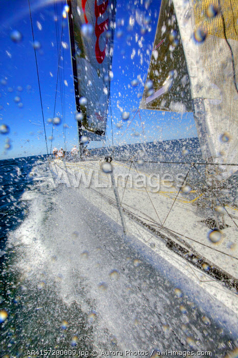 awl-images.com - Australia / On board Alfa Romeo during a test sail in Sydney, Australia in preparation for the Rolex Sydney to Hobart 2009