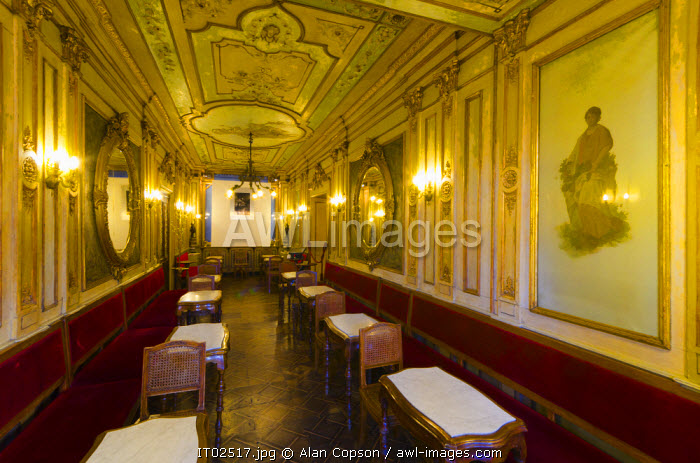 awl-images.com - Italy / Italy, Veneto, Venice, St. Mark's Square (Piazza San Marco), Caffe Florian