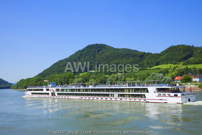 awl-images.com - Austria / Austria, Wachau, Luxury Cruise Boat on The Danube River