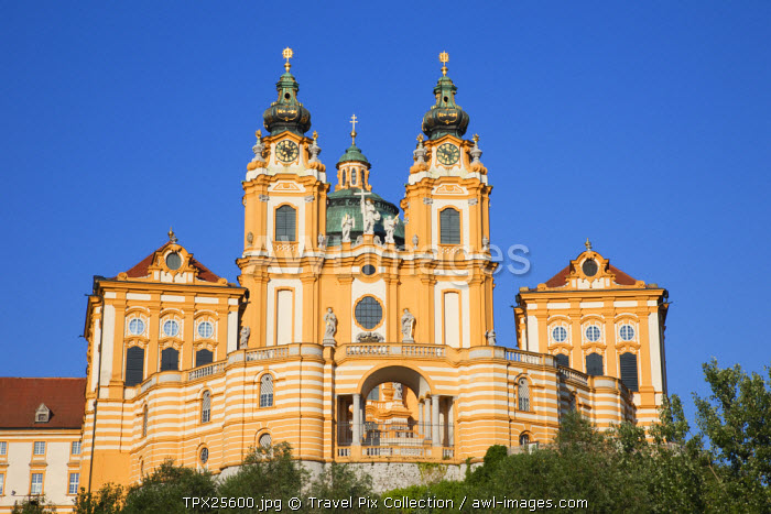 awl-images.com - Austria / Austria, Wachau, Melk, The Abbey