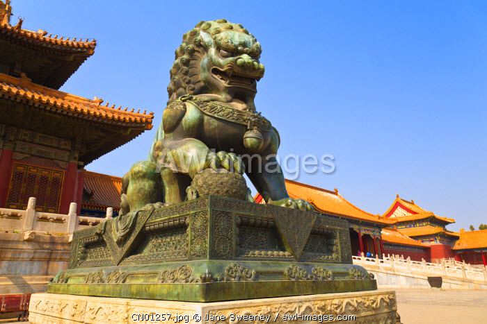 awl-images.com - China / China, Beijing, Tiananmen Square, The Forbidden City.,The Forbidden City. Hall of Supreme Harmony