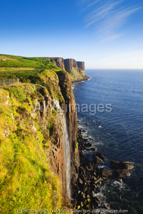 awl-images.com - Scotland / UK, Scotland, Inner Hebrides, Isle of Skye, Mealt Falls and Kilt Rock