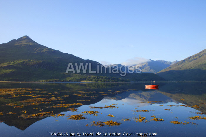 awl-images.com - Scotland / UK, Scotland, Highlands, Loch Duich, Invershiel