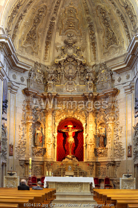 awl-images.com - Spain / Baroque church interior, Salamanca, Castile and Leon, Spain