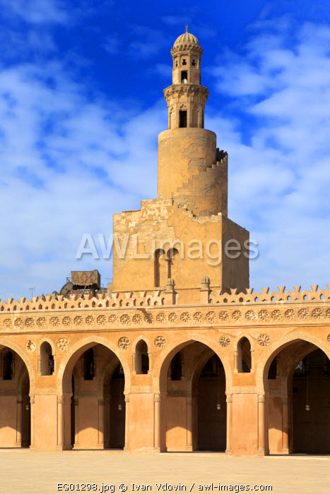 awl-images.com - Egypt / Ibn Tulun mosque (879), Cairo, Egypt